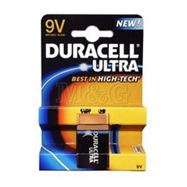 Picture of BATERIJA DURACELL 9V 6LR61