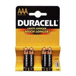 Picture of BATERIJA DURACELL 1,5V LR03