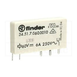 Picture of RELEJ FINDER F3451-60 1XU 6A 60V