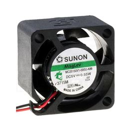 Picture of VENTILATOR DC 5V 25X25X15 SUNON