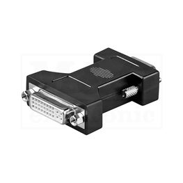 Slika za DVI ADAPTER DVI (24+5) Ž / VGA HD 15 M
