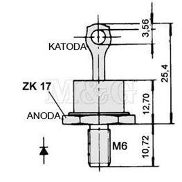 Slika za DIODA ZP50A-A 50A 1200V