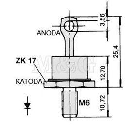 Slika za DIODA ZP50A-C 50A 1200V