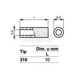 Slika za ODSTOJNIK Tip 3  M3x10 MM