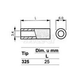 Slika za ODSTOJNIK Tip 3  M3x25 MM