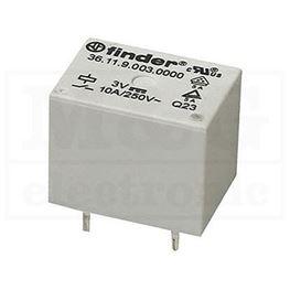 Slika za RELEJ FINDER F3611.9.003 1xU 10A 3V DC