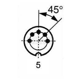Slika za UTIKAČ DIN NM/M 5-POL 180°