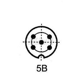 Slika za UTIKAČ DIN NM/M 5-POL 360°