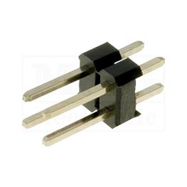 Slika za KONTAKTNA LETVICA 2,54 mm MUŠKA 2x2 pina