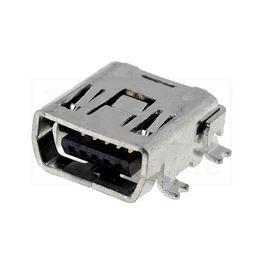 Slika za MINI USB C UTIČNICA SMD 5 PINA
