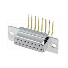 Slika za SUB-D KONEKTOR PRINT 90° Ž 15 pina