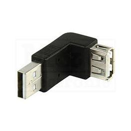 Slika za USB ADAPTER A MUŠKI / A ŽENSKI 90°