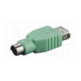 Slika za USB ADAPTER A ŽENSKI / PS2 MUŠKI