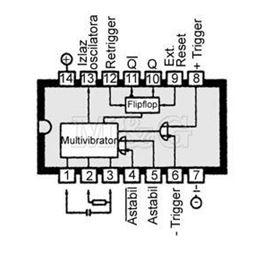 Slika za IC C-MOS 4047 Smd