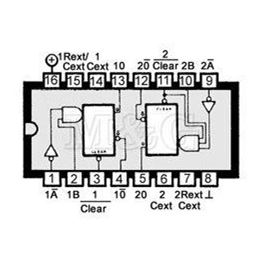Slika za IC TTL-H.S.CMOS 74HC123 Smd