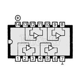 Slika za IC TTL-H.S.CMOS 74HC125 Smd