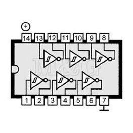 Slika za IC TTL ADVANCED H.S.CMOS 74AC14 Smd