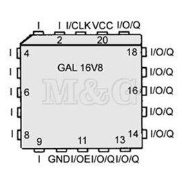 Slika za IC GAL 16V8D-10LJN