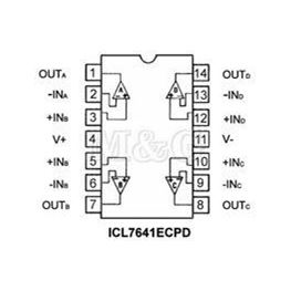 Slika za INTEGRISANO KOLO ICL 7641 ECPD