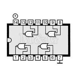 Slika za IC TTL-H.S.CMOS 74HC02 Smd