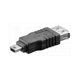 Slika za USB ADAPTER A ŽENSKI / Mini USB 5 PINA