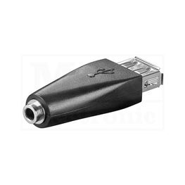 Slika za USB ADAPTER A ŽENSKI / 3,5 MM ŽENSKI