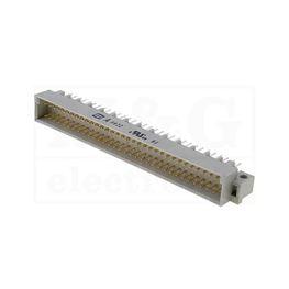 Slika za KONEKTOR DIN 41612 C 64 PINA M (a+b+c) 90°