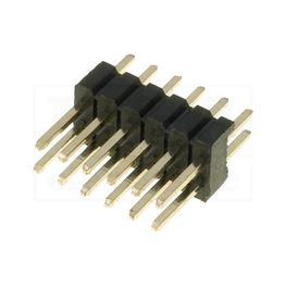 Slika za KONTAKTNA LETVICA 1,27 mm MUŠKA 2x6 pina