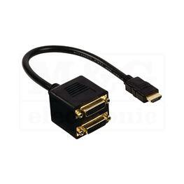 Slika za KABL ADAPTER HDMI/2X DVI-D
