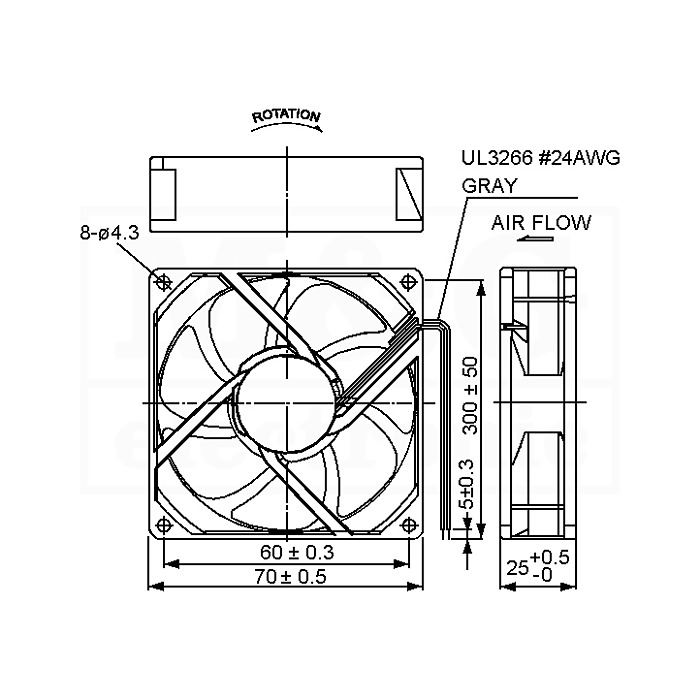 Mg electronic ventilator ac 230v 70x70x25 sunon picture of ventilator ac 230v 70x70x25 sunon ccuart Images