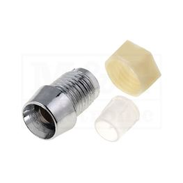Picture of KUĆIŠTE LE DIODE HROMIRANO 5MM