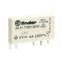 Slika za RELEJ FINDER F34.51.7.005 1xU 6A 5V DC