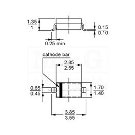 Picture of DIODA MBR0520L Smd