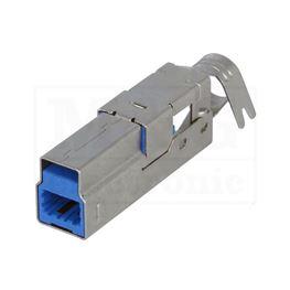 Slika za USB UTIKAČ KABLOVSKI MUŠKI TIP B  3.0