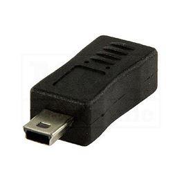 Slika za USB ADAPTER Micro B ŽENSKI / Mini USB 5 PINA MUŠKI
