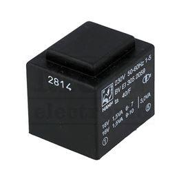 Picture of TRAFO PRINT HAHN 220V 3VA 2x18V