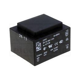 Picture of TRAFO PRINT HAHN 220V 4,5VA 1x12V