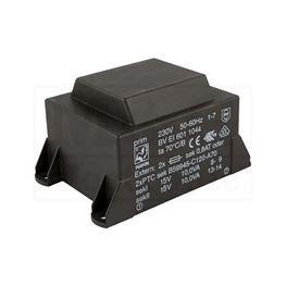 Picture of TRAFO PRINT HAHN 220V 20VA 2x15V