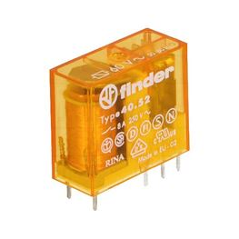 Picture of RELEJ FINDER 40.52 2XU 8A 60V AC