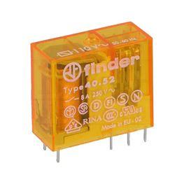 Picture of RELEJ FINDER 40.52 2XU 8A 110V AC