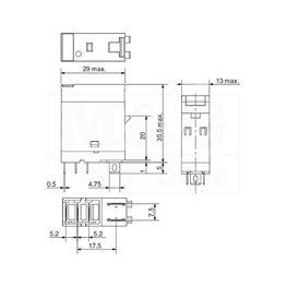 Slika za RELEJ OMRON G2R-1-SN 1xU 10A 12V AC