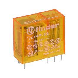 Slika za RELEJ FINDER 40.52.8.110 2xU 8A 110V AC