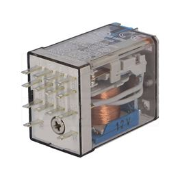 Slika za RELEJ FINDER 55.34 4xU 7A 12V DC