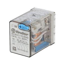 Slika za RELEJ FINDER 55.34 4xU 7A 110V DC