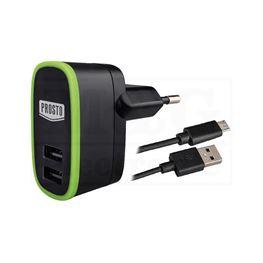 Slika za ISPRAVLJAČ ADAPTER 220V / 5V 2A  USB+KABL