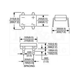 Slika za GREC ISPRAVLJAČ DIP B560 C1000
