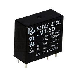 Slika za RELEJ RAYEX LM1-5D 1xU 12A 5V DC