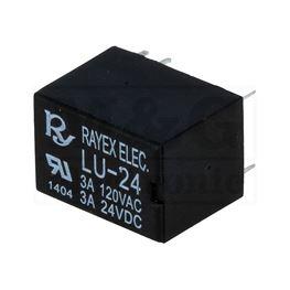 Slika za RELEJ RAYEX LU-24 1xU 1A 24V DC