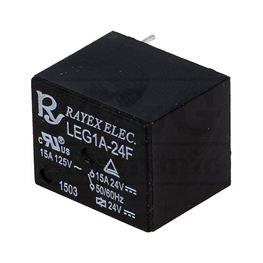 Slika za RELEJ RAYEX LEG1A-24F 1xNO 15A 24V DC