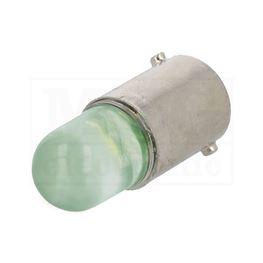Slika za SIJALICA LED BA9S Tip L 230V AC ZELENA
